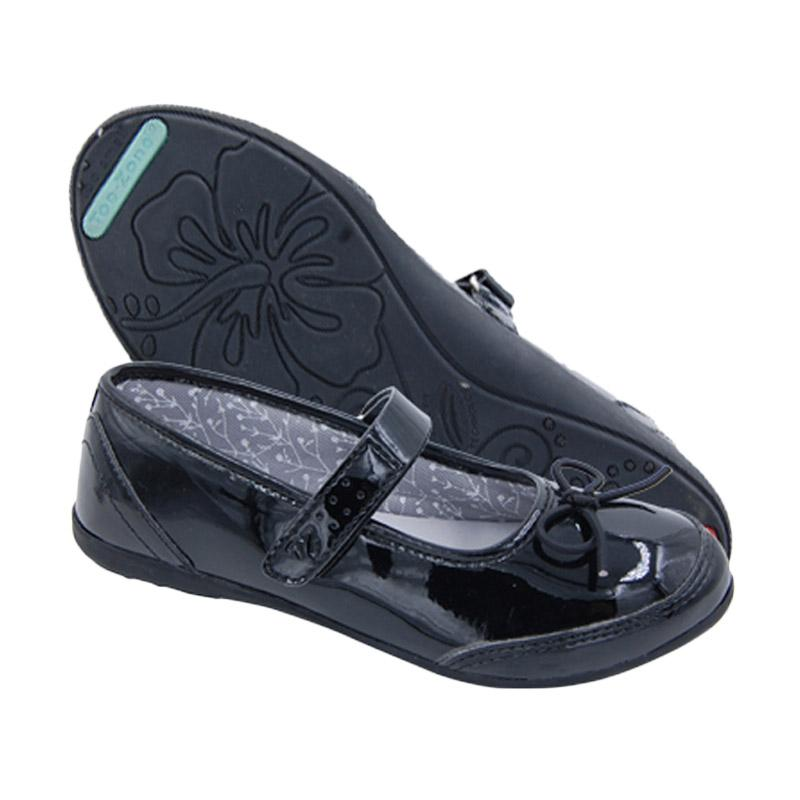 Toezone Kids Kennedy Yt Enamel Sepatu Anak Perempuan - Black