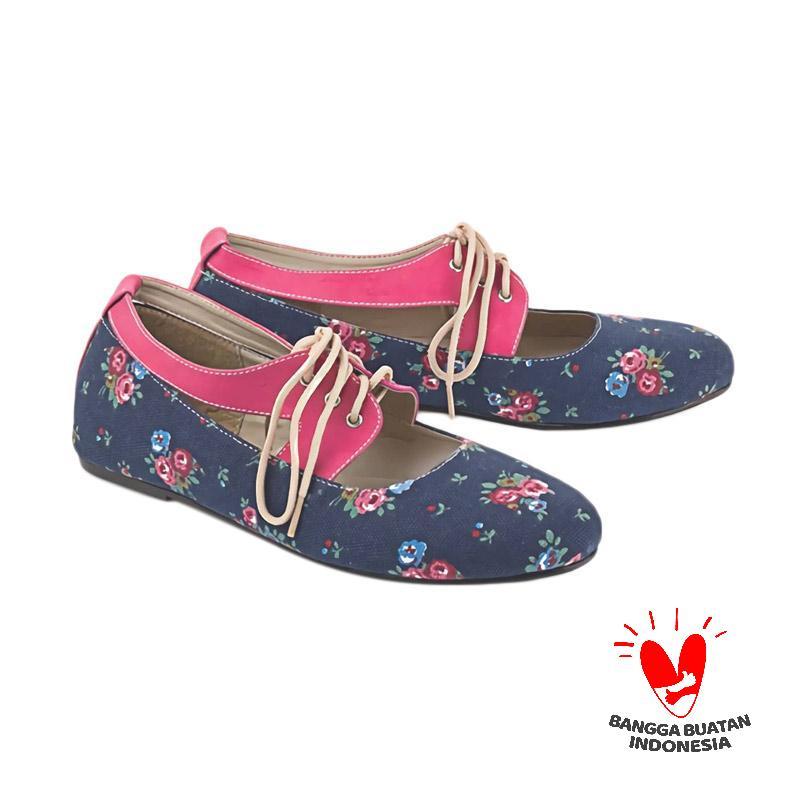 Blackkelly Folsenine LMV 338 Sepatu Slip On Wanita - Multicolor