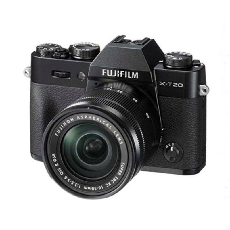 Fuji XT 20 Black + 16-50 + 50-230 + Instax Share SP 2