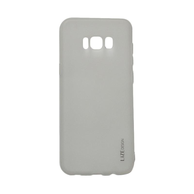Lize Candy Case Style Softshell Softcase Casing for Samsung Galaxy S8 - Transparan
