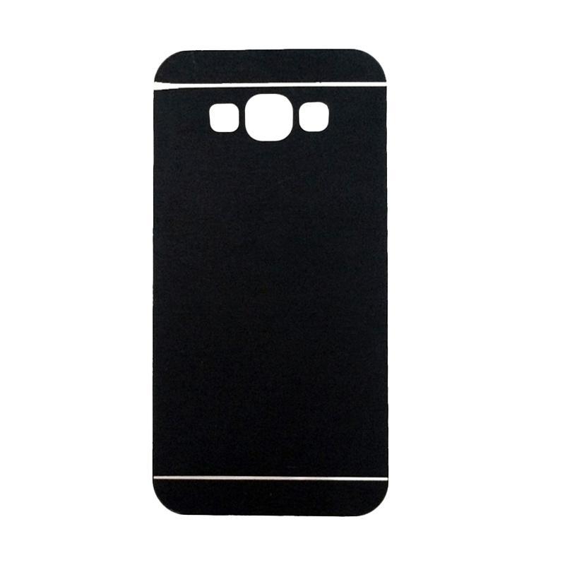 Motomo Metal Hardcase Backcase Casing for Samsung Galaxy A3 or A300F - Black