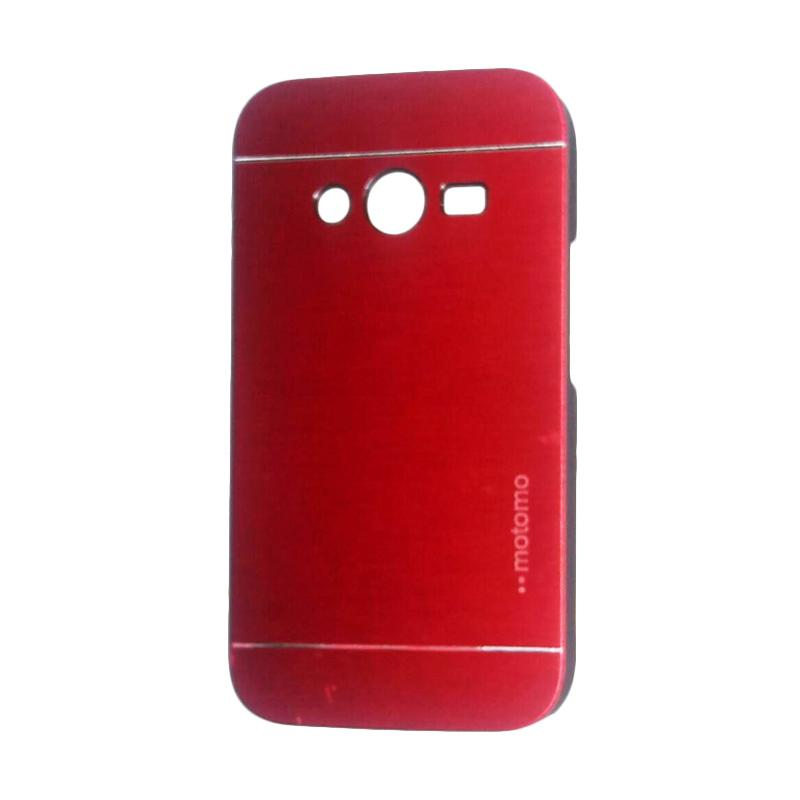 Motomo Metal Hardcase Backcase Casing for Samsung Galaxy Ace 4 or G313 - Red