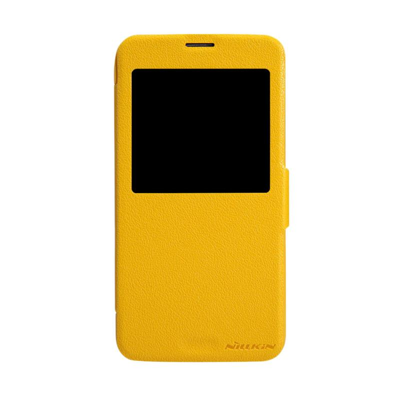 Nillkin Original Fresh Flip Cover for Samsung Galaxy S5 - Yellow