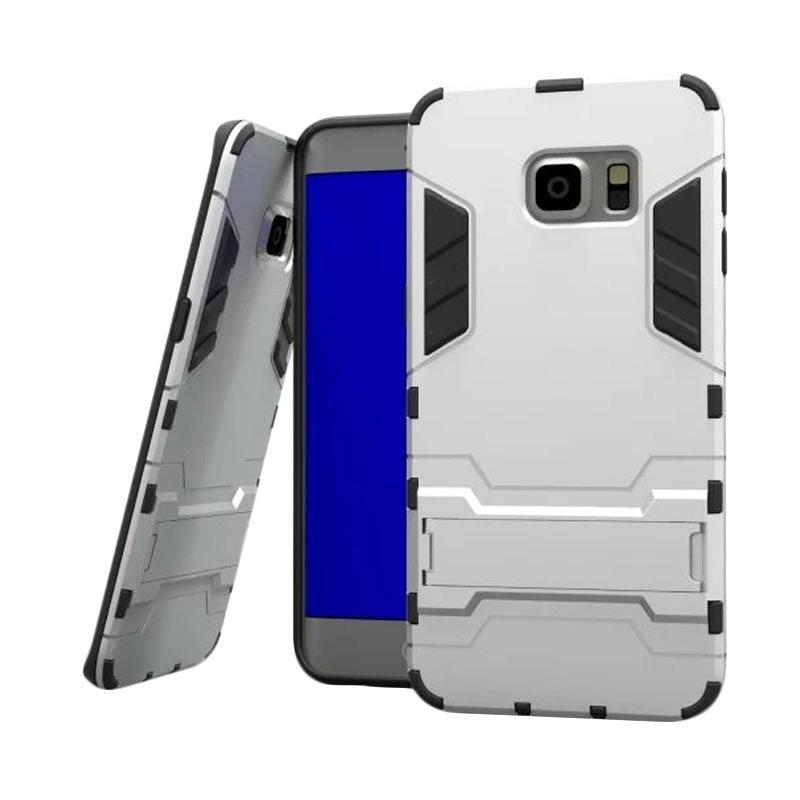 OEM Transformer Robot Iron Man Casing for Samsung Galaxy S6 - Silver
