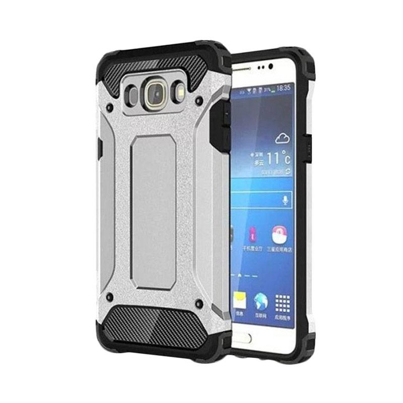 OEM Transformers Iron Robot Hardcase Casing for Samsung J1 Ace - Silver
