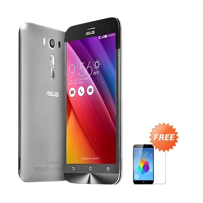 Ultrathin Aircase Casing for Asus Zenfone 2 ZE500KL - Clear + Free Tempered Glass