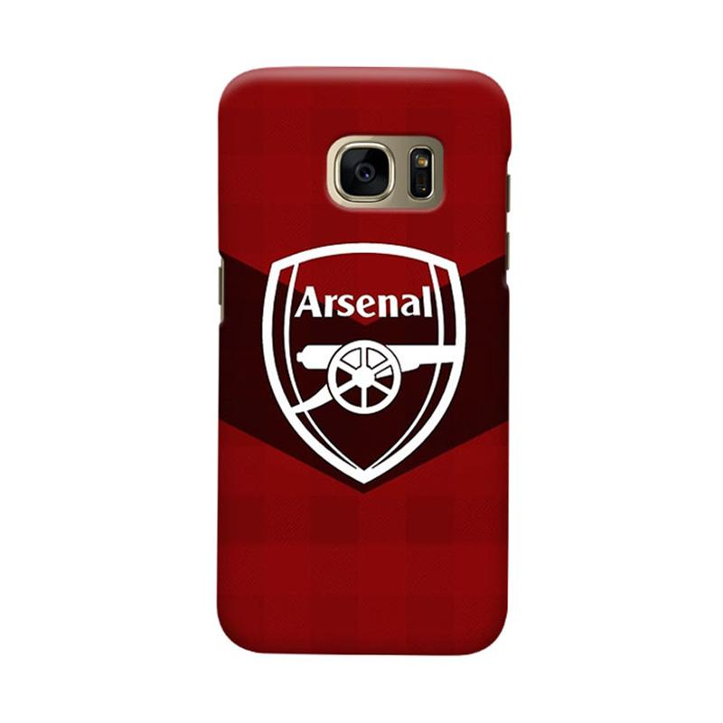 Indocustomcase Arsenal FC AFC04 Casing for Samsung Galaxy S6
