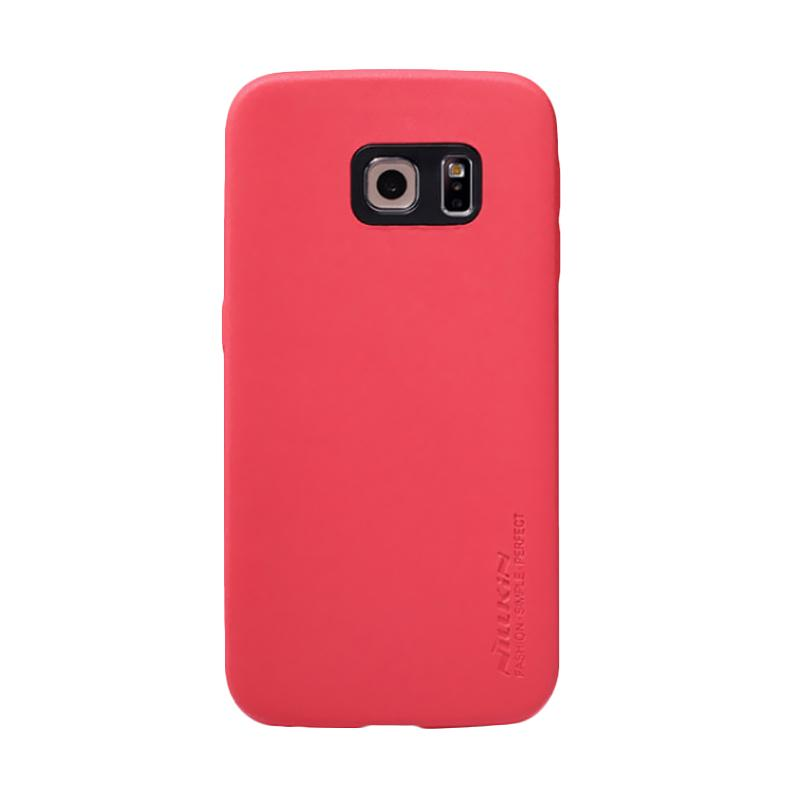 Nillkin Victoria Leather Series Casing for Samsung Galaxy S6 - Red