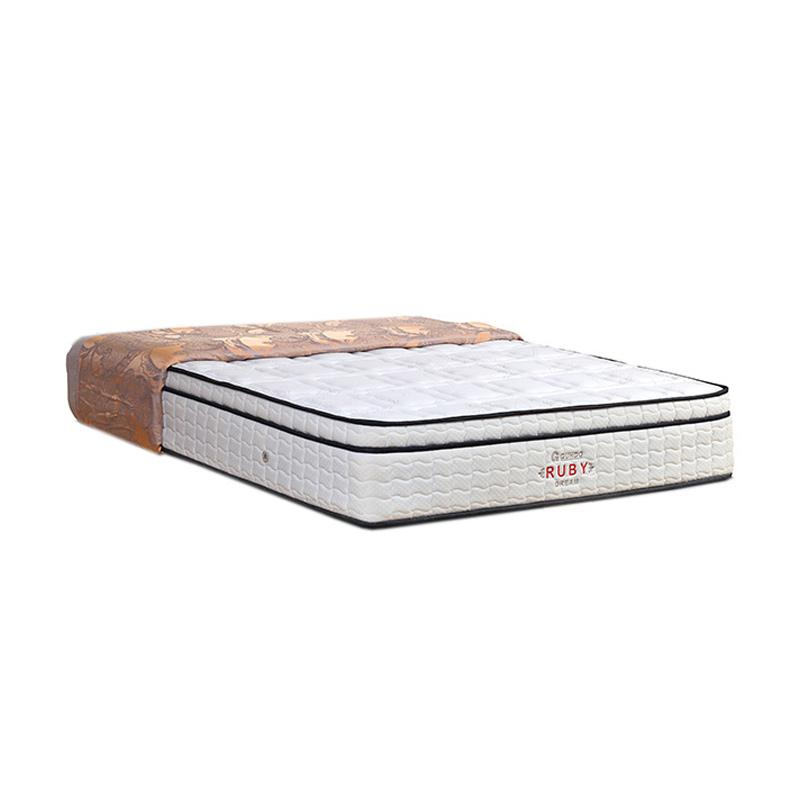 Guhdo Ruby Dream Kasur Springbed - Putih [Mattress Only/Jabodetabek]