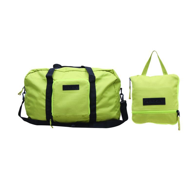 Mockup BFL.05 Unisex Foldable Bag Double Cabin Tas Selempang - Light Green