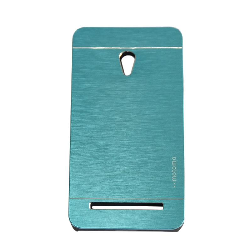 Motomo Metal Hardcase Backcase Casing for Asus Zenfone 5 A500CG - Sky Blue