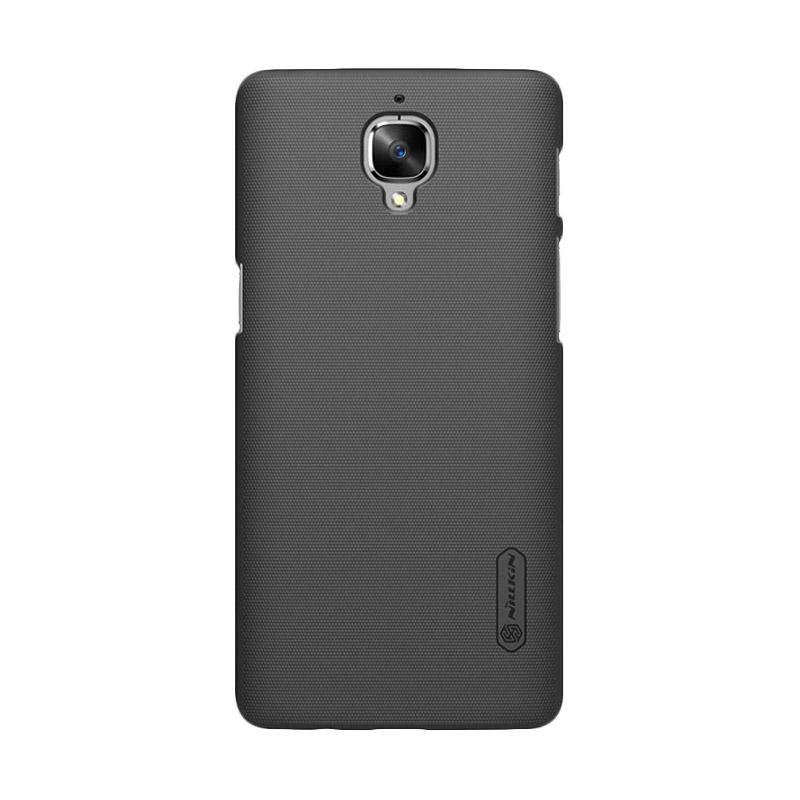 Nillkin Original Super Shield Hardcase Casing for OnePlus Three - Black [1 mm]