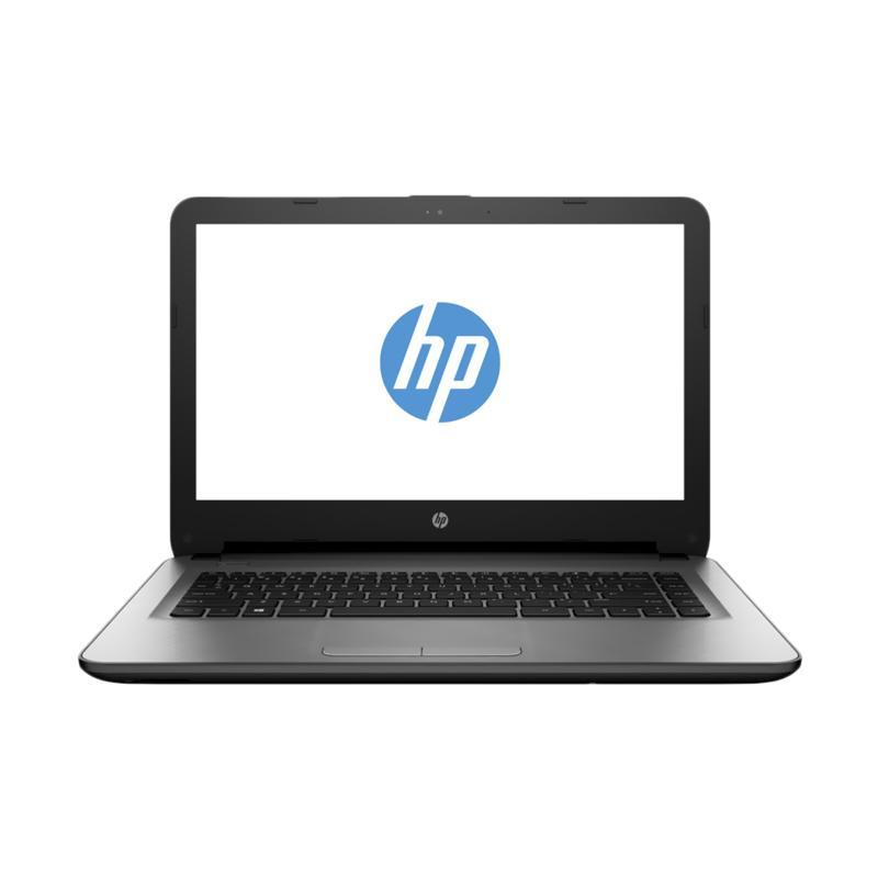 """HP 14-AM016TU Notebook - Turbo Silver [Intel Pentium N3710/ 4GB RAM/ 500GB HDD/ 14""""/ Win10] - 9305951 , 15670174 , 337_15670174 , 4699000 , HP-14-AM016TU-Notebook-Turbo-Silver-Intel-Pentium-N3710-4GB-RAM-500GB-HDD-14ampquot-Win10-337_15670174 , blibli.com , HP 14-AM016TU Notebook - Turbo Silver [Intel Pentium N3710/ 4GB RAM/ 500GB HDD/ 14&"""