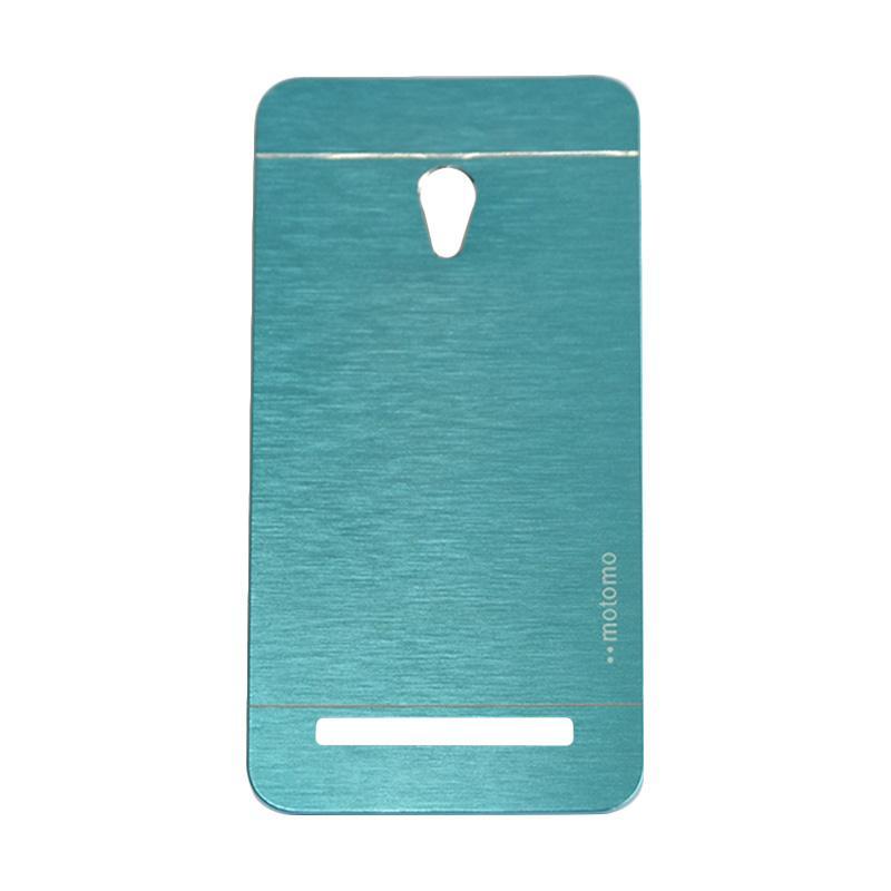 Motomo Metal Backcase Hardcase Casing for Asus Zenfone 6 A600CG - Sky Blue