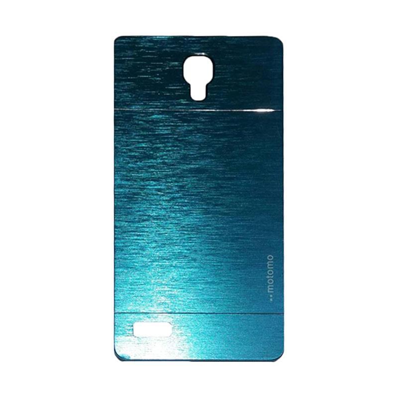 Motomo Metal Backcase Hardcase Casing for Xiaomi Redmi Note - Dark Blue