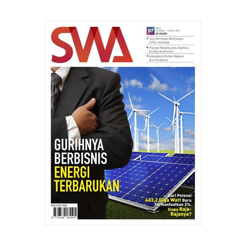 SWA edisi 07-2017 30 Maret-12 April 2017 Gurihnya Berbisnis Energy Terbarukan Majalah
