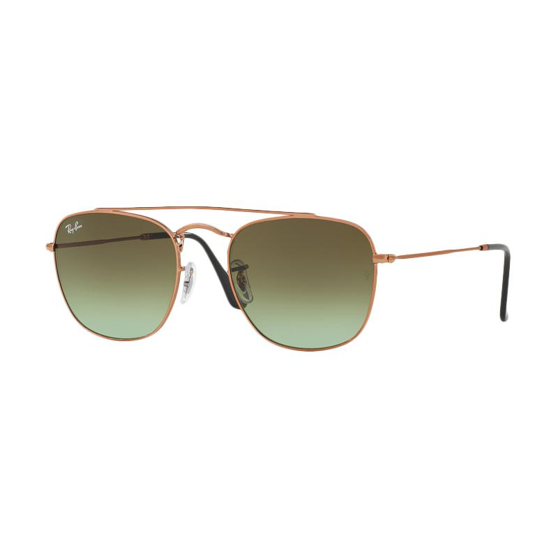 Ray-Ban Rb3557 Green Gradient Brown 9002A6 Sunglasses - Medium Bronze [Size 51]
