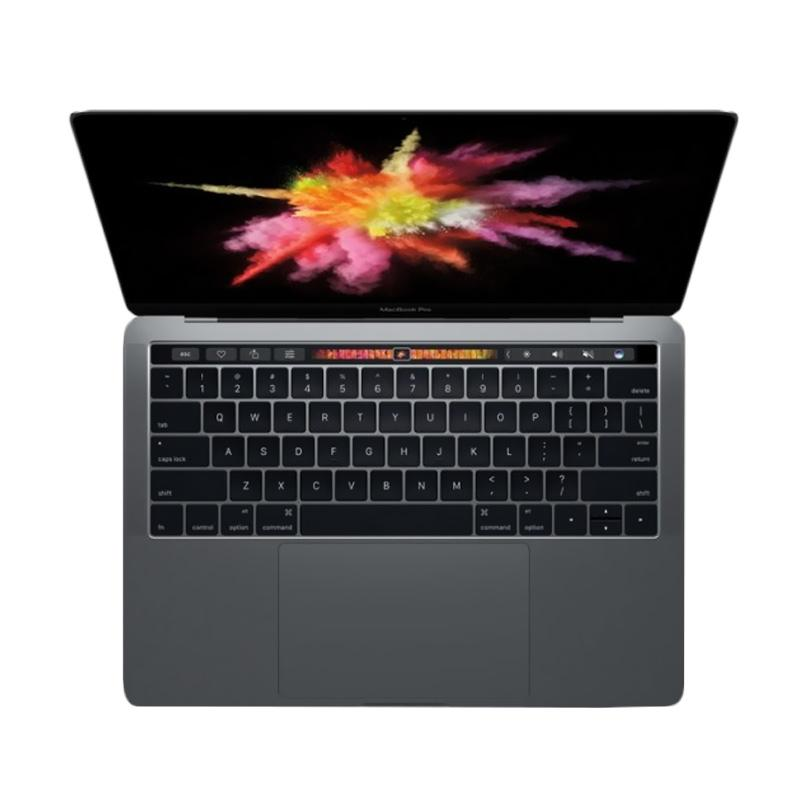 harga Apple Macbook Pro Touch Bar MNQF2 Laptop - Grey [13 Inch/2.7 Ghz Dualcore i5/8GB/512GB] Blibli.com