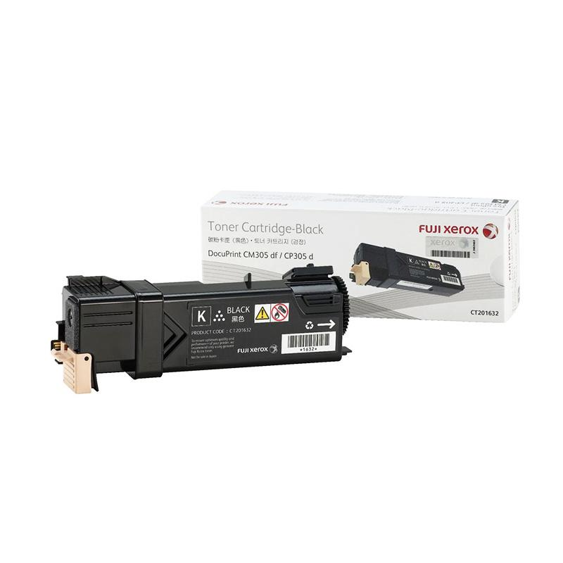 Fuji Xerox CT201632 Toner for printer Docuprint DPCM305df or CP305d - Hitam