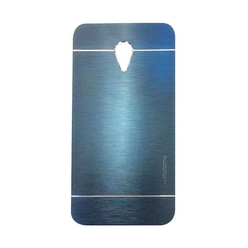 Motomo Metal Backcase Hardcase Casing for Xiaomi Redmi Note 2 - Dark Blue