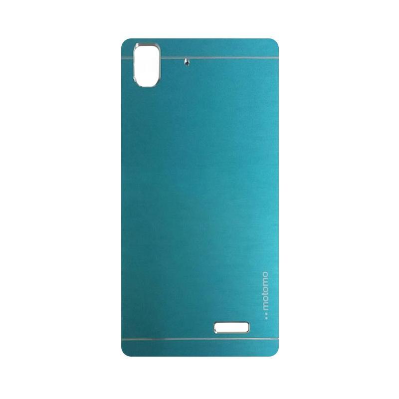 Motomo Metal Hardcase Backcase Casing for Oppo R7 or R7 Lite - Sky Blue