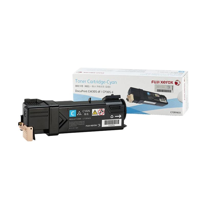 Fuji Xerox CT201633 Toner for Printer Docuprint DPCM305df or CP305d - Cyan
