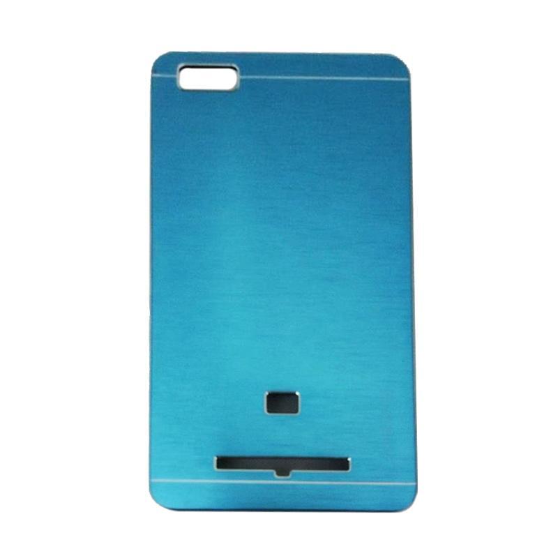 Motomo Metal Hardcase Backcase Casing for Xiaomi Mi4i or Mi 4i - Sky Blue