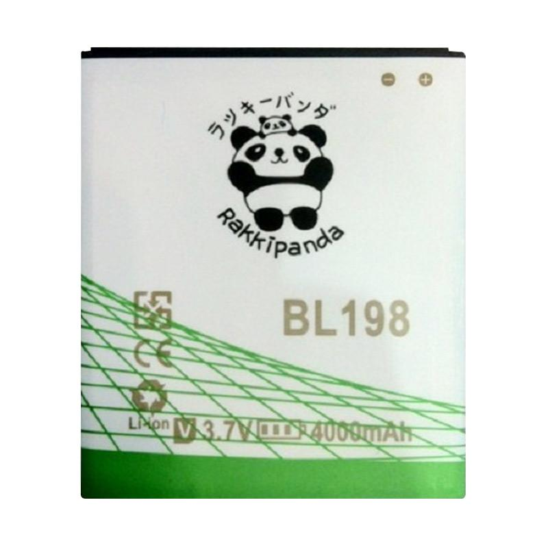 RAKKIPANDA BL-198 Double Power IC Baterai for Lenovo S880/A830/A850/S890
