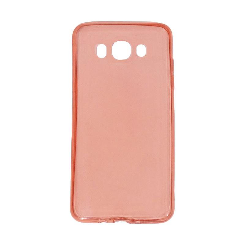 VR Ultrathin Silicone Softcase Casing for Samsung Galaxy J7 2016 or J710 - Red