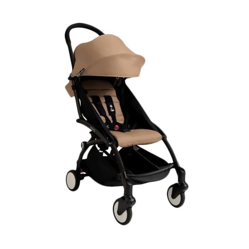 Babyzen Yoyo Baby Stroller - Black Frame Taupe [Complete Set]