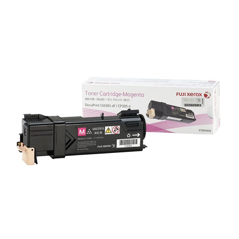 Fuji Xerox CT201634 Toner for Printer Docuprint DPCM305DF or CP305D - Magenta