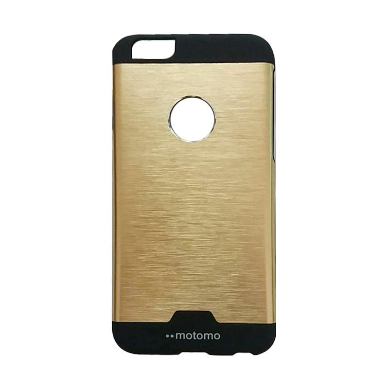 Motomo Hybrid Metal Backcase Hardcase Casing for iPhone 6/6G6S 4.7 Inch - Gold