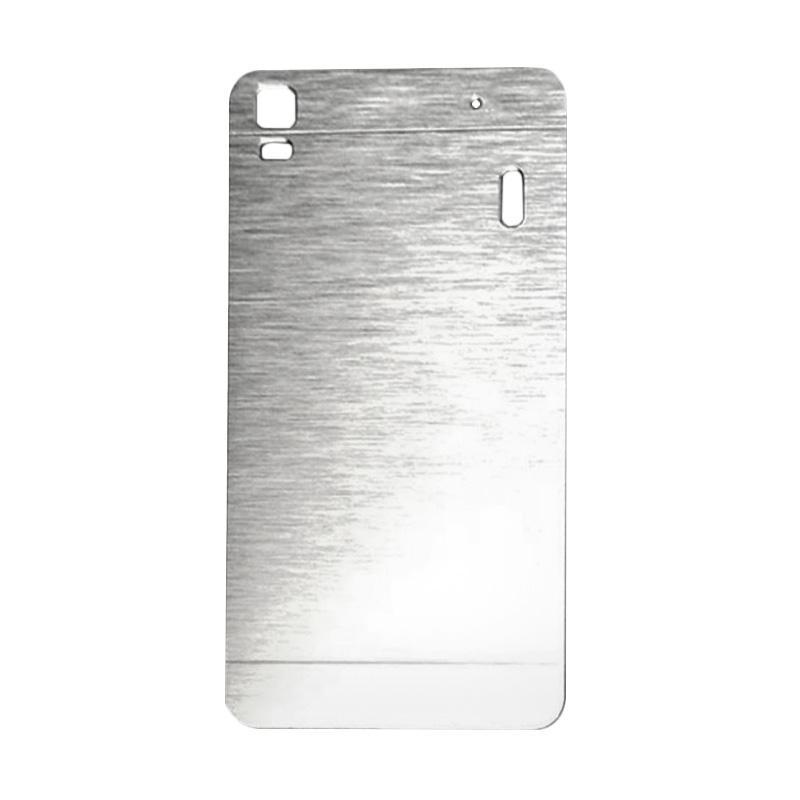 Motomo Metal Hardcase Backcase Casing for Lenovo A7000 or K3 Note - Silver