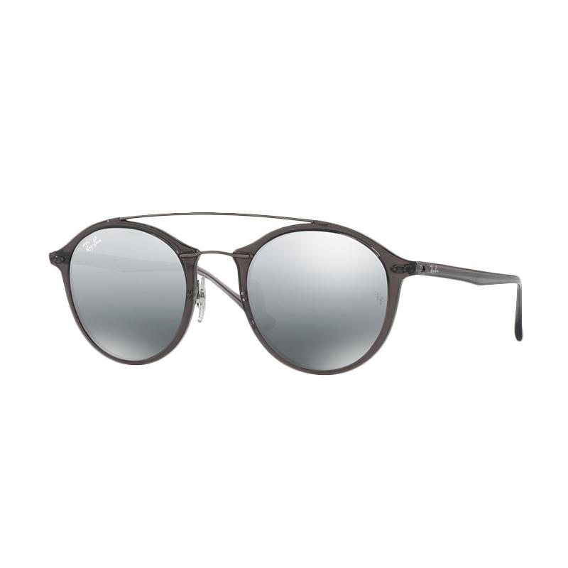Ray-Ban 620088 RB4266 Grey Mirror Silver Gradient Sunglasses - Grey [Size 49]