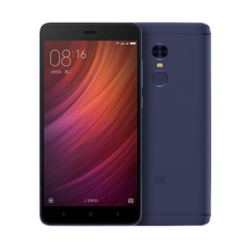 Update Harga Xiaomi Redmi Note 4 Smartphone – Blue [3GB/64GB/Distributor/Mediatek Chip]