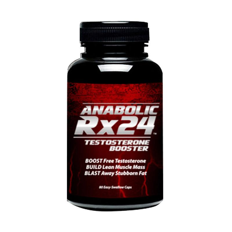 Suplemen Otot Herbal Ampuh ANABOLIC RX24 USA