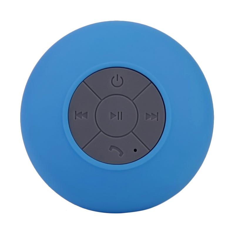 Ronaco BTS-06 Waterproof Shower Portable Bluetooth Speaker - Biru