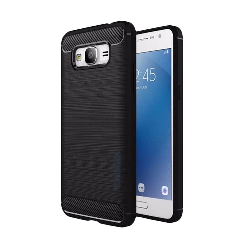 Tunedesign Slim Armor Casing for Samsung Galaxy J2 Prime - Black
