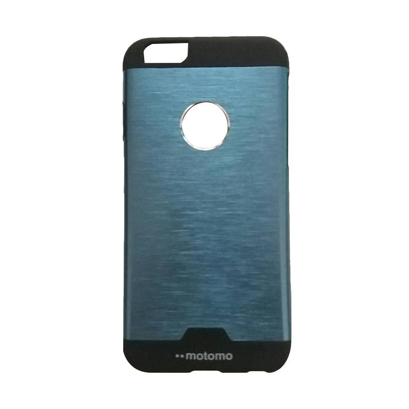 Motomo Hybrid Metal Backcase Hardcase Casing for iPhone 6/6G6S 4.7 Inch - Blue