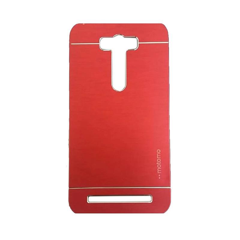 Motomo Metal Hardcase Casing for Asus Zenfone 2 Laser ZE601KL 6.0 Inch - Red