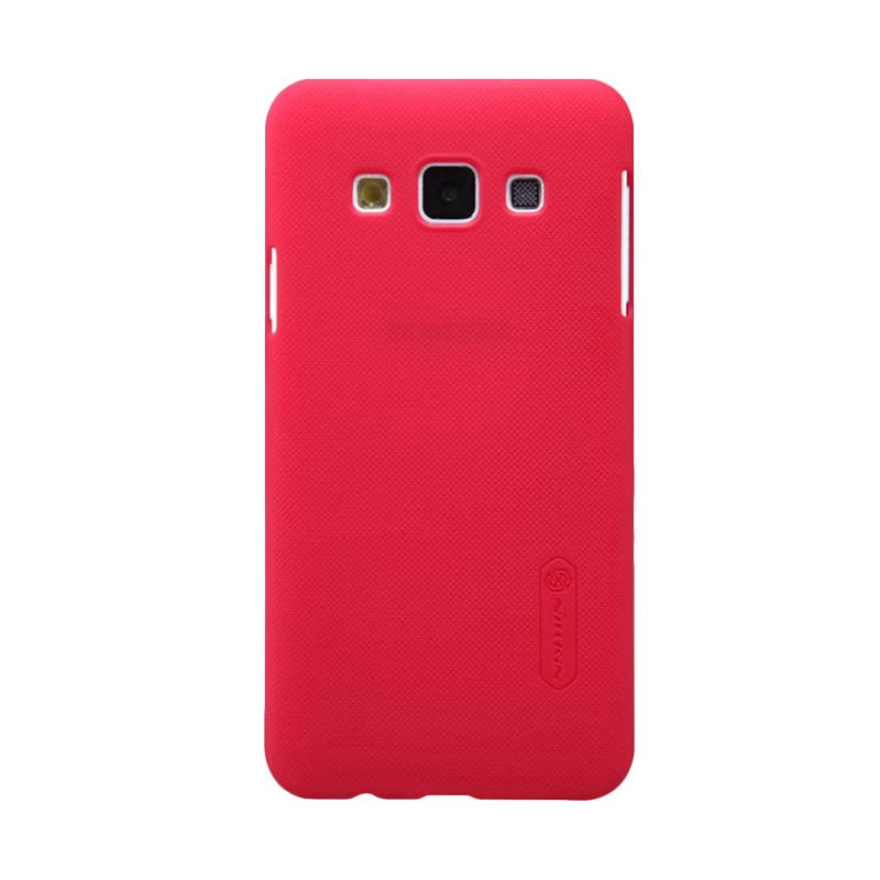 Nillkin Original Super Shield Hardcase Casing for Samsung Galaxy A3 - Red [1 mm]