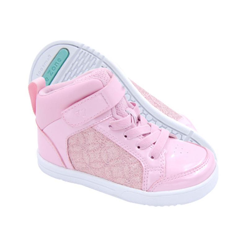 Toezone Kids Orville Ch Quilt Sepatu Anak Perempuan - Pink