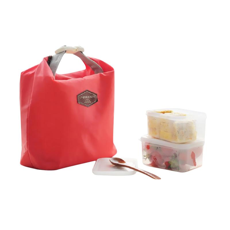 Toko Bagus Indo Insulated Iconic Lunch Pouch - Red