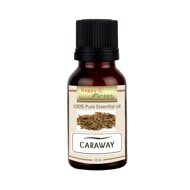 HAPPY GREEN Caraway Essential Oil [10 mL]