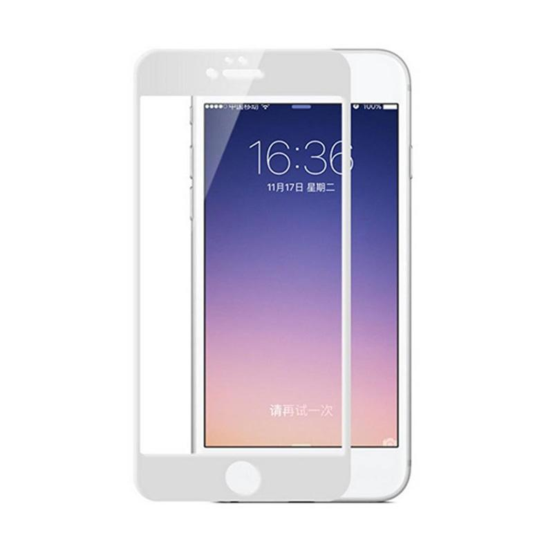 K-Box Tempered Glass Screen Protector for iPhone 6G 4.7 Inch - White