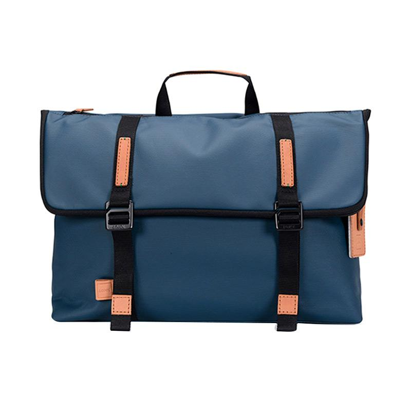 Lojel Urbo Vachetta Messenger Stylish MK 4397 Tas Laptop - Navy Tosca
