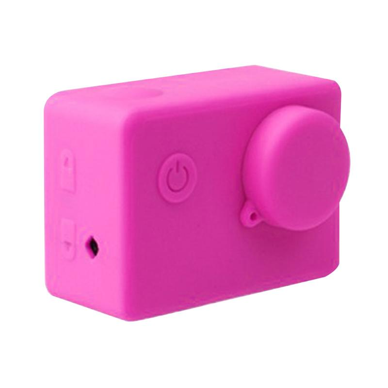 Brica Action Camera Silicone Case and Lens Cap Brica B-PRO Alpha Edition AE2 - Pink