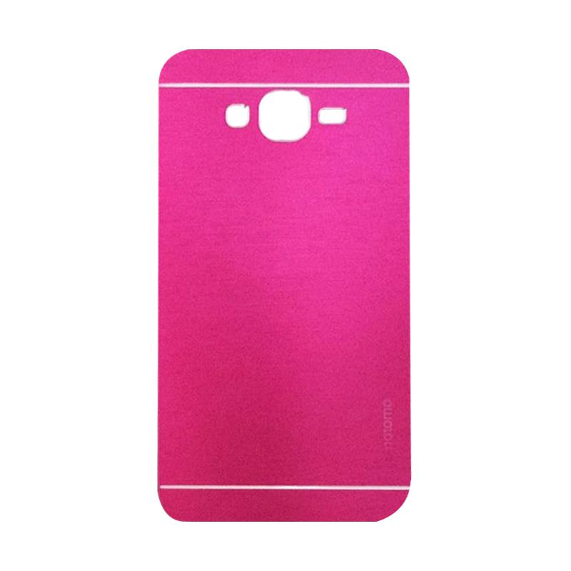 Motomo Metal Hardcase Backcase Casing for Samsung Galaxy A5 or A500F - Pink