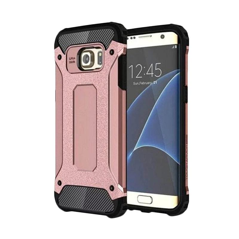 OEM Transformers Iron Robot Hardcase Casing for Samsung A510 A5 2016 - Rose Gold