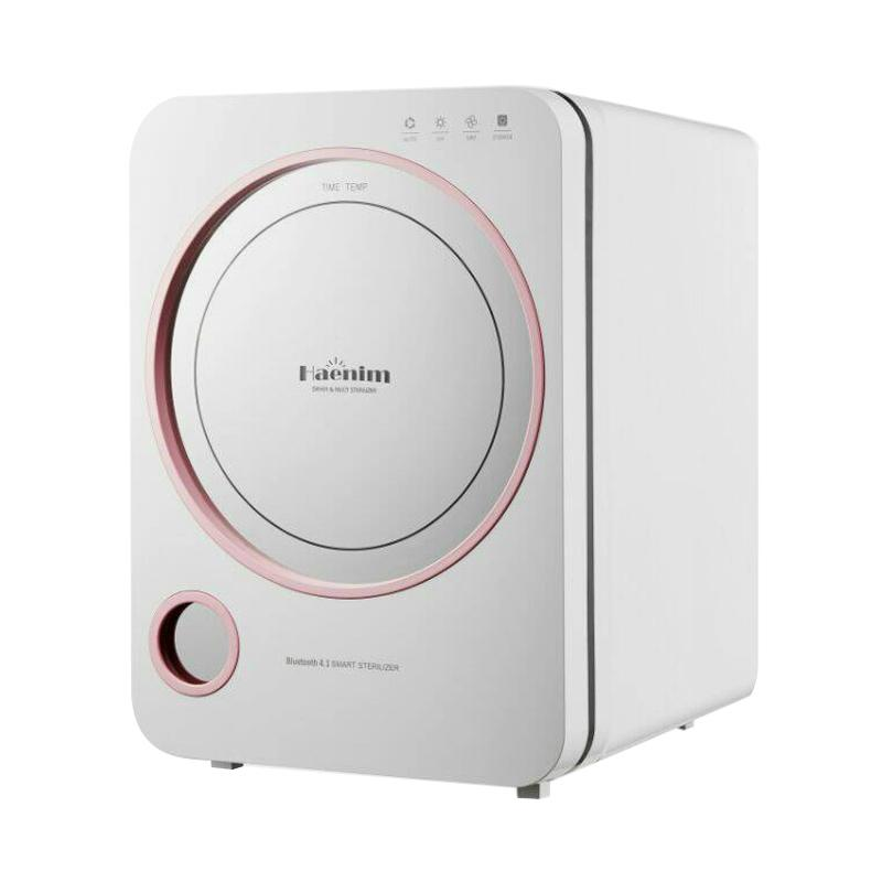 Haenim 3rd Generation with Bluetooth System UV Sterilizer - Pink
